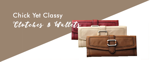 WALLETS AND CLUTCHES